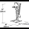 Kép 5/5 - Bowflex PR1000 fitnesz center