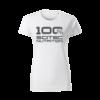 Kép 1/4 - 100% Scitec Nutrition póló női