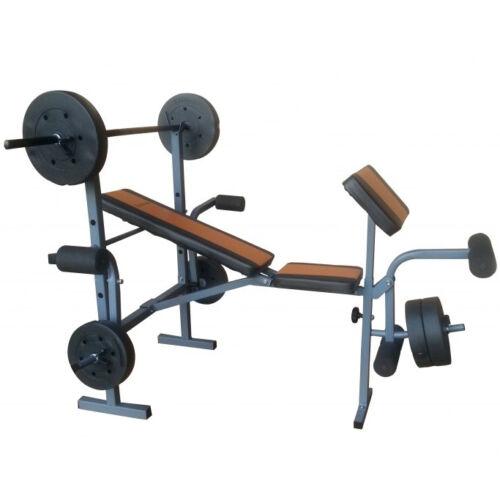 Robust Fit súlyzóspad + rúd + 35 kg súly