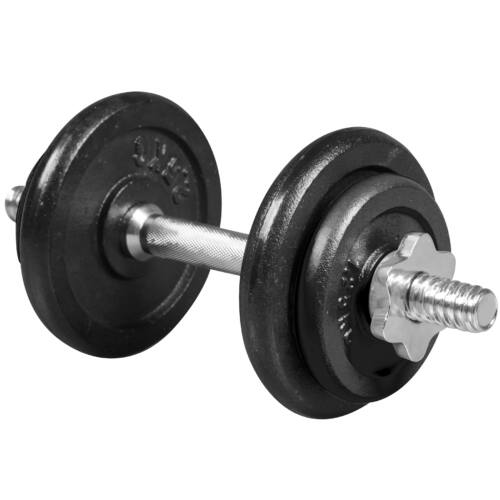 10 kg-os festett vas súlyzókészlet