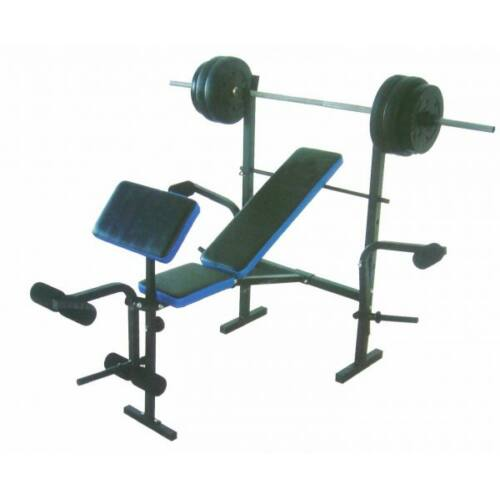 Robust Plus súlyzóspad + rúd + 35 kg súly