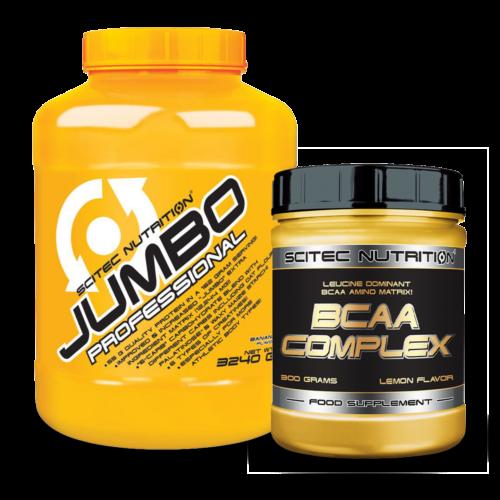 Jumbo Professional 3240g + BCAA Complex 300g (szett)