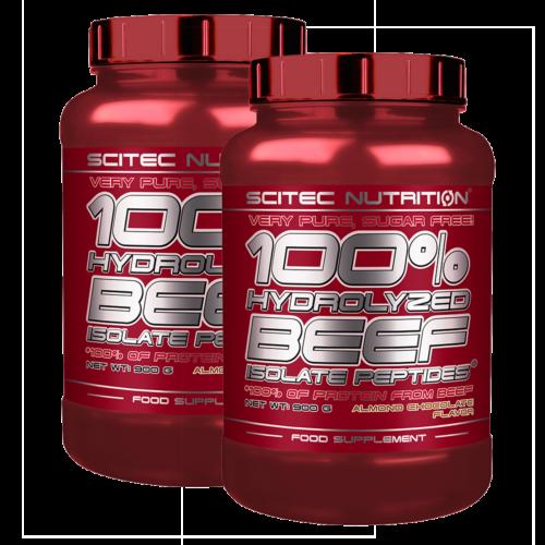 100% Hydrolyzed Beef Isolate Peptides (2x900g) (szett)