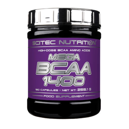 Mega BCAA 1400 180 kapszula