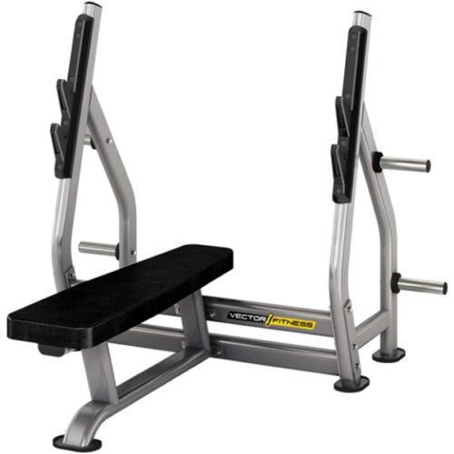 Vector Fitness fekvenyomó pad súlytárcsa tartóval